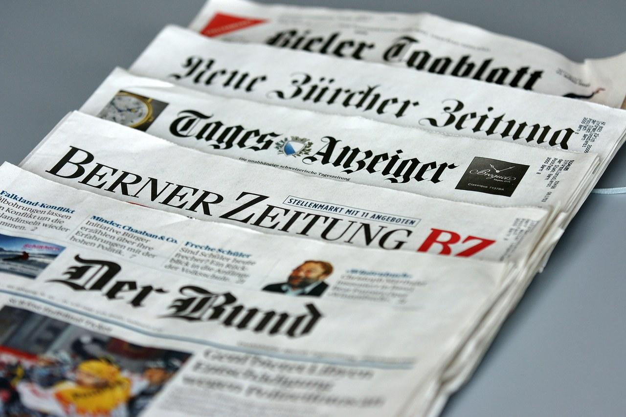 Zeitungsfächer