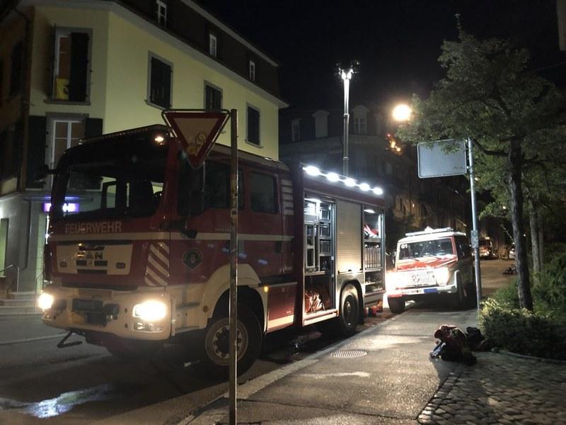 Brand Kasernenstrasse