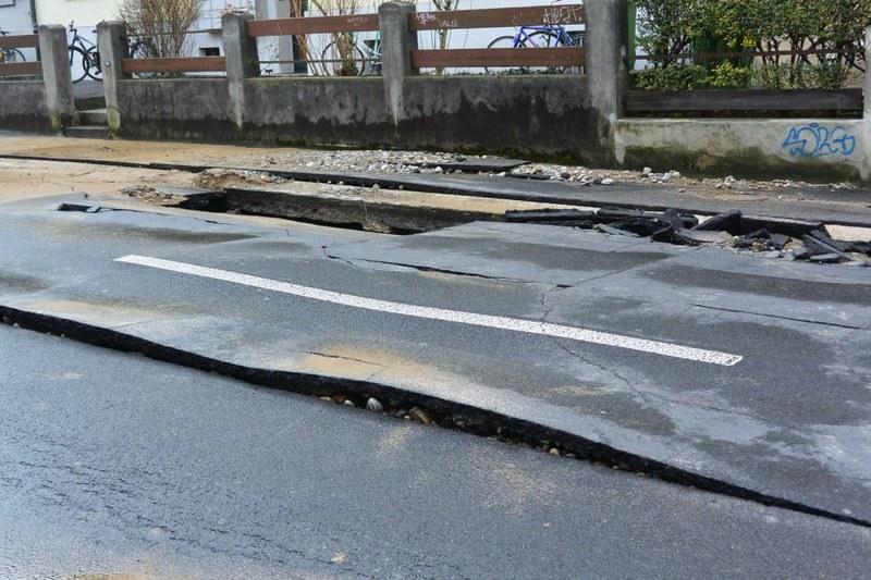 Wasserleitungsbruch Weissensteinstrasse