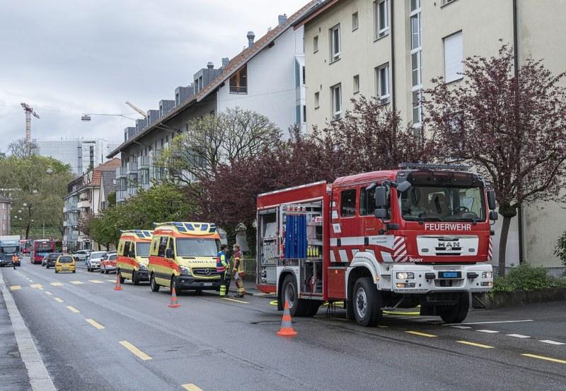 Brand Könizstrasse