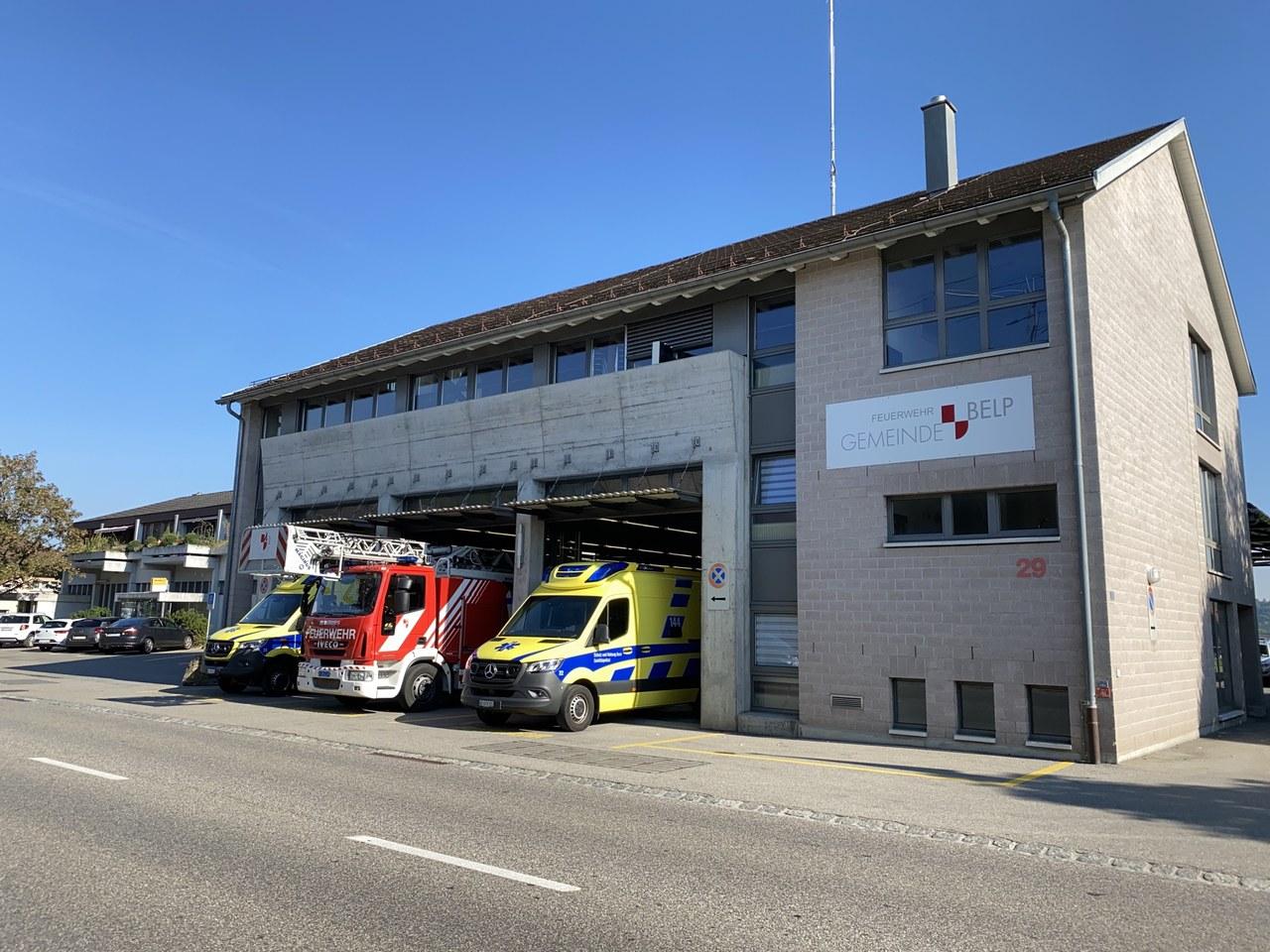 Rettungsdienste bei der Feuerwehr Regio Belp
