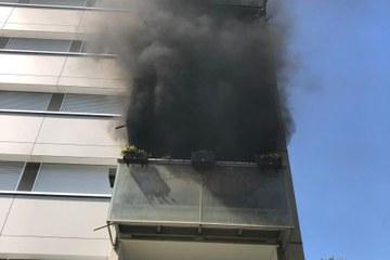 Brand Stapfen 2. Vergrösserte Ansicht