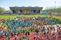 Kids Sports Day 2016 Eröffung Bild Martin Rhyner Sportamt