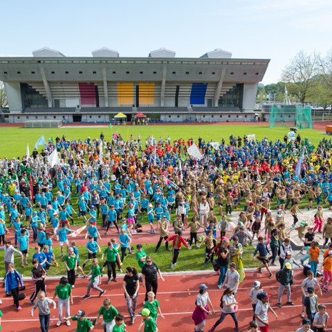 Kids Sports Day 2016 Eröffung (JPG, 3,8 MB)