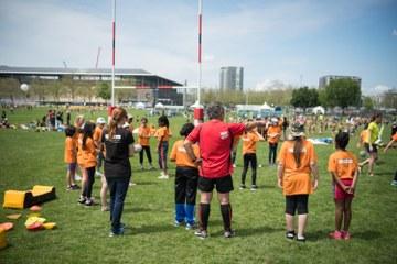 Kids Sports Day 2016 Rugby (JPG, 3,5 MB). Vergrösserte Ansicht