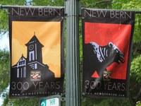 Bild 4: Beflaggung von New Bern