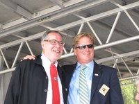 Bild 1: Lee W. Bettis, Mayor von New Bern und Stadtpräsident Alexander Tschäppät