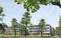 Visualisierung Park & Wohnbauten
