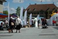 Umwelttag, Foto, Klimaausstellung Waisenhausplatz