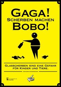 Plakat Scherben 2
