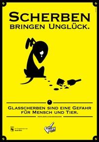 Plakat Scherben 3
