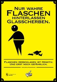 Plakat Scherben 4