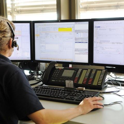 Ansicht eines Arbeitsplatzes SNZ144 heute. Vergrösserte Ansicht
