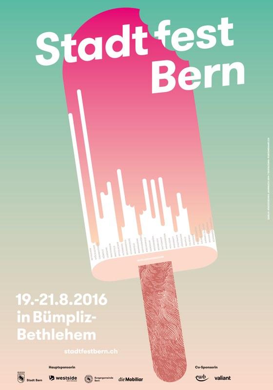 Sujet Stadtfest Bern 2016.
