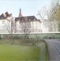 Provisorium  Bitziusturnhalle Bild: wbarchitekten eth sia, Bern.JPG