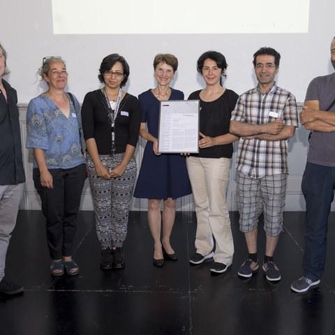 Gewinner Förderpreis Kreativ Asyl Bild Sandra Blaser. Vergrösserte Ansicht