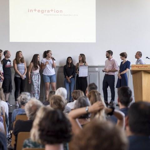 Integrationspreis 2018 Gewinner BC Femina Bild Sandra Blaser. Vergrösserte Ansicht