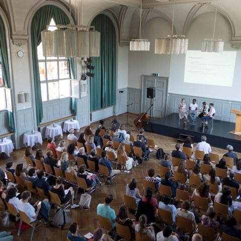 Integrationspreis 2018 Podiumsdiskussion Bild Sandra Blaser