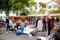 5 Nicht nur Flohmarkt Schoene Stimmung auf dem Rossfeldplatz Bild Pascale Amez
