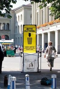 Big Bag und Infosäule Bärenplatz 2