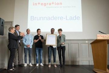 Integrationspreis 2016 Brunnadere Lade Bild Sandra Blaser. Vergrösserte Ansicht