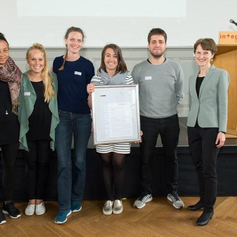Integrationspreis 2016 wegeleben Bild Sandra Blaser. Vergrösserte Ansicht