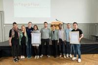Integrationspreis 2016 Brunnadere Lade und wegeleben Bild Sandra Blaser