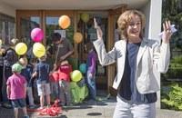 Begegnungszone Burgfeld - Gemeinderätin Ursula Wyss