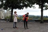 Ursula Wyss und Franziska Teuscher City Golf Bern