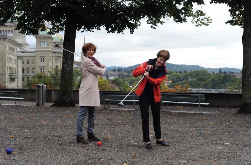 City Golf Bern Ursula Wyss und Franziska Teuscher