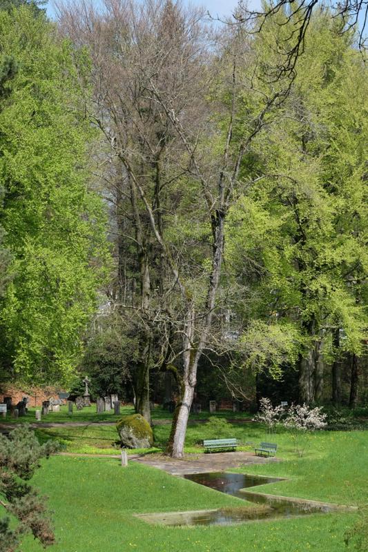 Foto des Schosshaldenfriedhofs, Bild Christian Flück