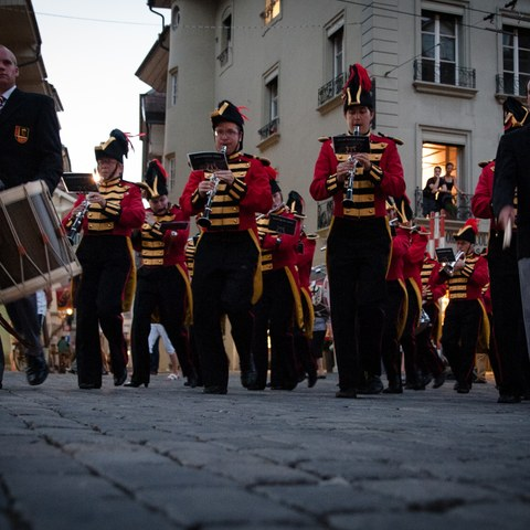 Die Bundesstadt feiert den 1. August mit viel Musik und einem reichhaltigen Rahmenprogramm. (Bild: Eve Kohler). Vergrösserte Ansicht