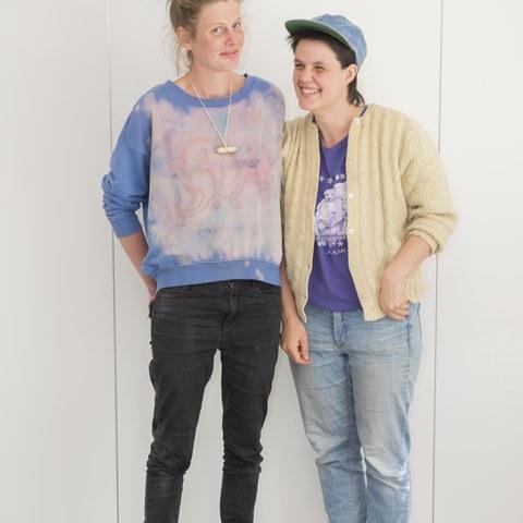 Sophie Hofer & Mariann Oppliger (Foto: Fabian Unternährer). Vergrösserte Ansicht