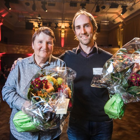 BaernChampion Gewinner Ehrenamtliche Bild Sportamt Stadt Bern. Vergrösserte Ansicht