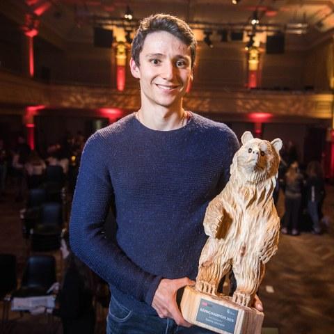 BaernChampion Gewinner Elite Einzelsportler Bild Sportamt Stadt Bern. Vergrösserte Ansicht