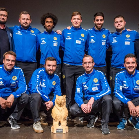 BaernChampion Gewinner Team Bild Sportamt Stadt Bern. Vergrösserte Ansicht