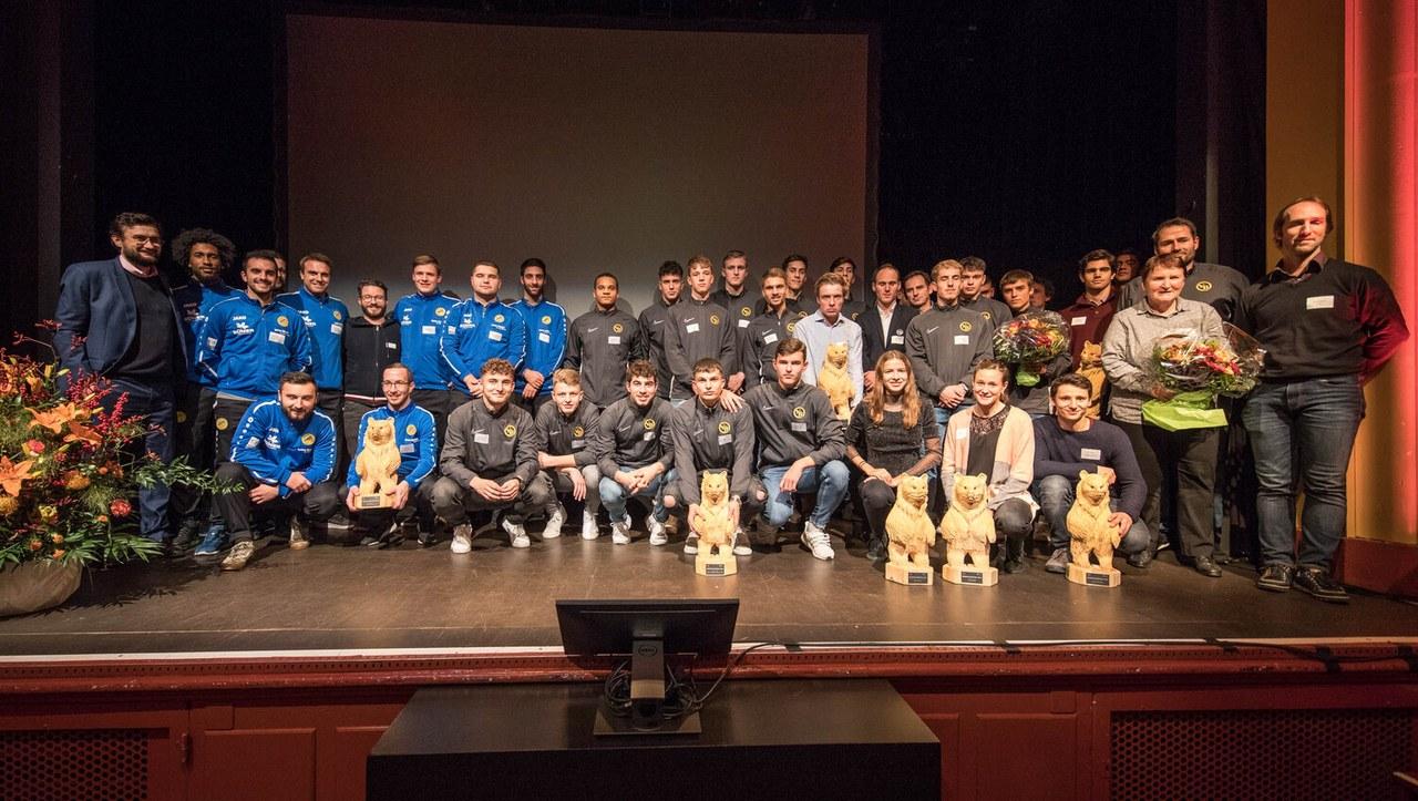 BärnChampion Gewinner Gruppenfoto. Bild Sportamt Stadt Bern