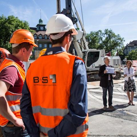 Sanierung Abwasseranlagen Breitsch 2 Bild Pia Neuenschwander (JPG, 6,7 MB). Vergrösserte Ansicht
