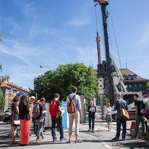 Sanierung Abwasseranlagen Breitsch Bild Pia Neuenschwander (JPG, 9,2 MB). Vergrösserte Ansicht