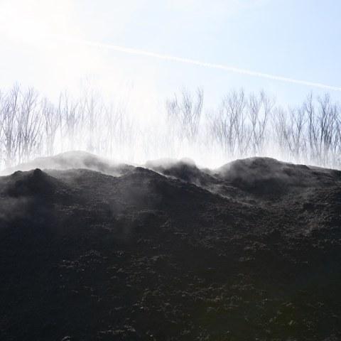 Kompostieranlage Seeland Bild Nadine Strub. Vergrösserte Ansicht