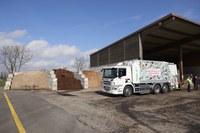Kompostieranlage Seeland  Biogas Kehrichtfahrzeug Bild Nadine Strub