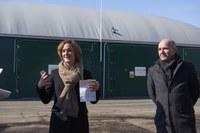 Kompostieranlage Seeland Ursula Wyss und Walter Matter Bild Nadine Strub