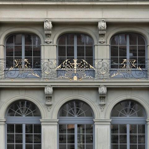 Erlacherhof Fenster 2 Bild Christine Blaser Bildaufbau. Vergrösserte Ansicht