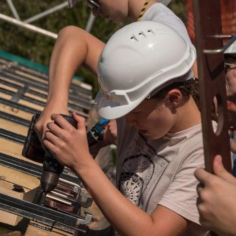 Bild 1 Jugendsolarprojekt Stadt Bern Bild Hansueli Räz. Vergrösserte Ansicht