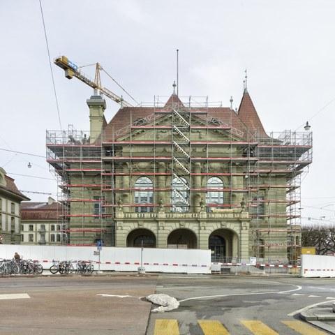 Europäische Denkmaltage: Baustellenbesuch im Casino Bern