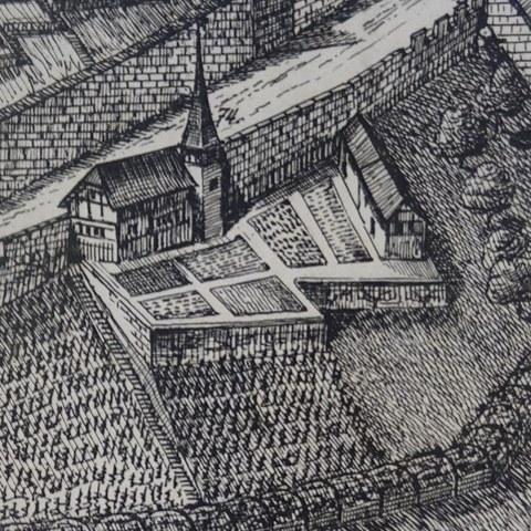 Detail aus Sickingerplan ©Siegried Möri, Burgdorf. Vergrösserte Ansicht