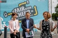 Bild: Fair ufem Chehr - Franziska Teuscher, René Schmied, Ursula Wyss