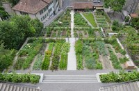 1 Terrassengärten des Béatrice von Wattenwyl Hauses Bild Alexander Gempeler Bern