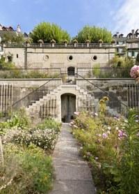 2 Gartenanlage des Béatrice von Wattenwyl Hauses Bild Alexander Gempeler Bern