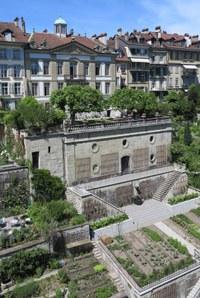5 Béatrice von Wattenwyl Haus mit den Terrassengärten Bild Alexander Gempeler Bern